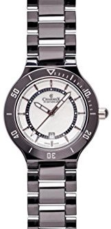 Charmex San Remo 6320 43 mmセラミックケースブラックセラミック合成サファイアWomen 's Watch