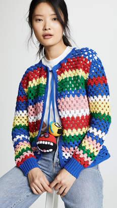 Mira Mikati Striped Cardigan