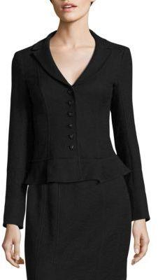 Nanette Lepore Parasol Cotton Blend Jacket $498 thestylecure.com