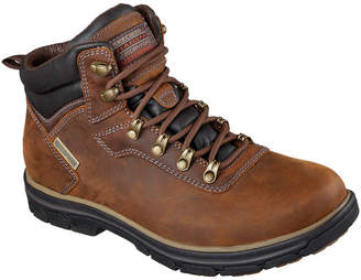 Skechers Ander Mens Lace-Up Ankle Boots