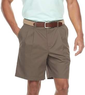 Croft & Barrow Men's Classic-Fit Easy-Care Flex-Waist Stretch Pleated Shorts