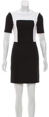Tibi Short Sleeve Mini Dress