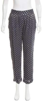 Christophe Sauvat Polka Dot Straight-leg Pants