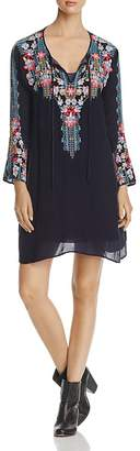 Johnny Was Tanyah Embroidered Dress $288 thestylecure.com