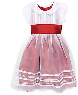 Isabel Garreton Little Girl's Surprise 2-In-1 Silk & Organza Dress