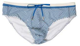 Fendi Striped Swim Briefs w/ Tags