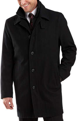 Jf J.Ferrar Double Knit Collar Men's Jacket