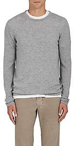 Barneys New York Men's Fine-Gauge Knit Cashmere Sweater-Gray