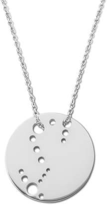 Ekria - Scorpio Zodiac Necklace Shiny White Gold