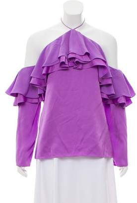 Emilio Pucci Tiered Ruffle Top w/ Tags