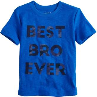 Toddler Boy Jumping Beans Slubbed Graphic Tee
