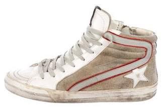 Golden Goose Suede High-Top Sneakers