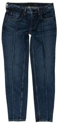 Alexander Wang Denim x Mid- Rise Skinny Jeans w/ Tags