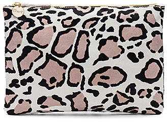 Clare V. Hair On Flat Clutch