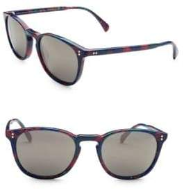 Oliver Peoples Finley Esq. 47MM Square Sunglasses