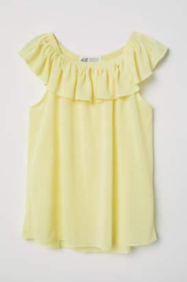 H&M Bohemian Top - Yellow