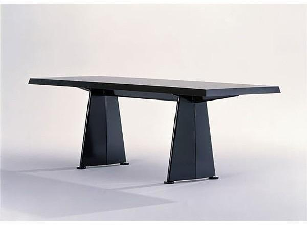Vitra - trapeze tables by jean prouve for vitra
