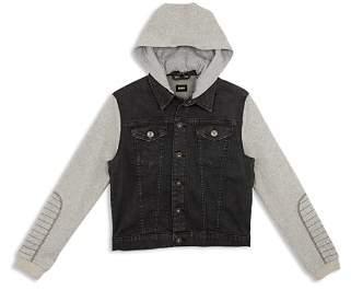 Hudson Boys' Emerson Knit Denim Jacket - Big Kid