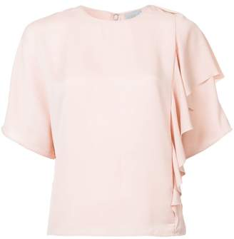 Jason Wu GREY ruffle short-sleeve top