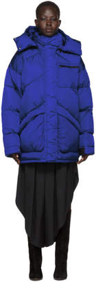 Givenchy Blue Nylon Small 4G Jacket