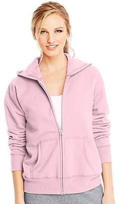 Hanes ComfortSoft EcoSmart Women's Full-Zip Hoodie Sweatshirt__2XL
