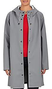 Stutterheim Raincoats Women's Mosebacke Raincoat-Grey