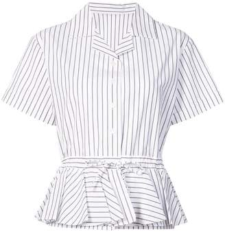 Tome striped short-sleeve shirt