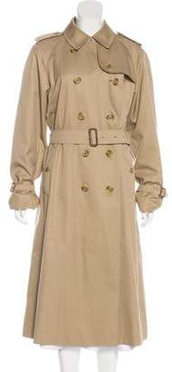 Burberry House Check-Lined Long Coat