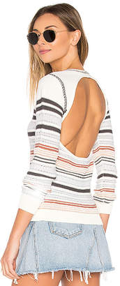 ale by alessandra Andressa Sweater in Ivory $198 thestylecure.com
