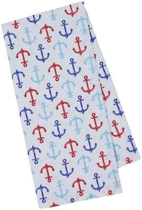 Design Imports Nautical Anchors Cotton Dishtowels (Set of 4)