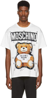Moschino White Teddy Bear T-Shirt