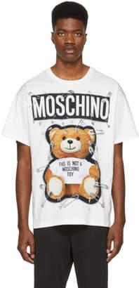 Moschino White Teddy Bear T-Shirt