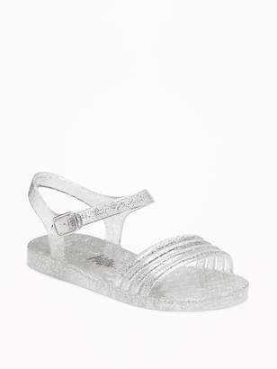 Old Navy Strappy Jelly Sandals for Toddler Girls & Baby