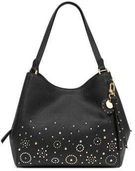 Nine West Studded Medium Hobo Bag