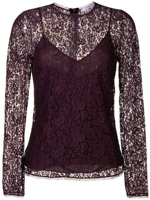 Givenchy floral lace top