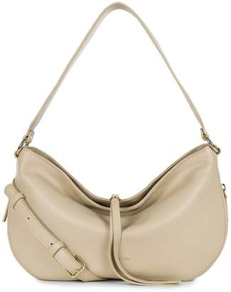 Dune Lancaster Paris Leather Hobo Crossbody
