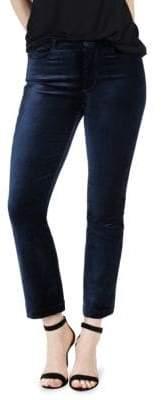 Paige Colette Velvet Crop Jeans
