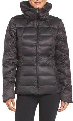 Women's Patagonia Downtown Loft Down Waterproof Jacket $279 thestylecure.com