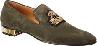 Christian Louboutin Colonnaki Veau Velours Suede Loafer