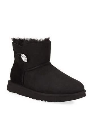 UGG Mini Bailey Bling Low Boot, Black