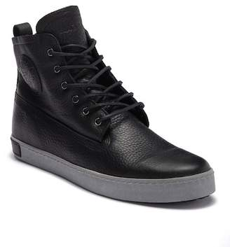 Blackstone GM 06 Genuine Shearling Lined Padded High-Top Sneaker