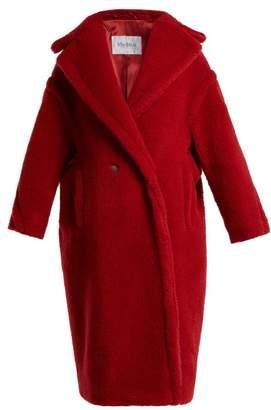 Max Mara Teddy Coat - Womens - Red