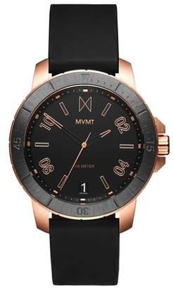 MVMT Modern Sport Silicone Strap Watch, 42mm