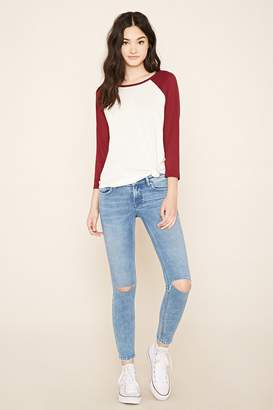 Forever 21 Ankle Skinny Jeans