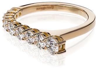 Melissa Kaye 18kt yellow gold Aria ring
