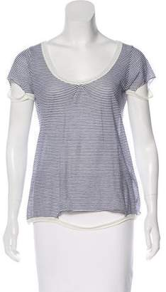 Crossley Striped Short Sleeve Top