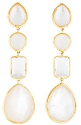 Ippolita 18K Rock Candy Four Stone Linear Drop Earrings
