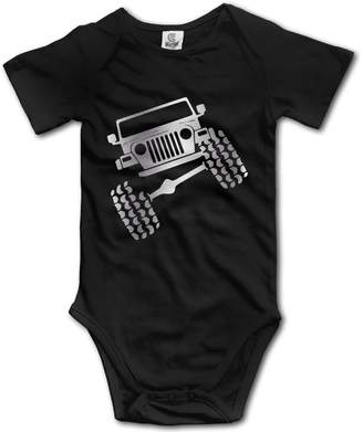 Wrangler WSPN Jeep TJ Funny Viny Platinum Style Baby Sleeveless Romper Jumpsuit