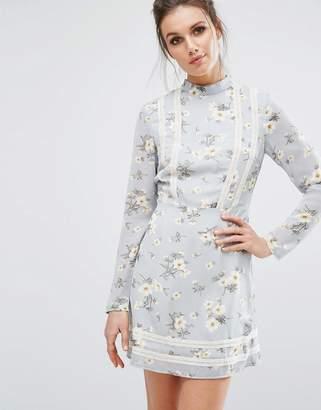 Missguided Floral Tea Dress $53 thestylecure.com