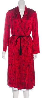 Giada Forte Notch-Lapel Belted Coat
